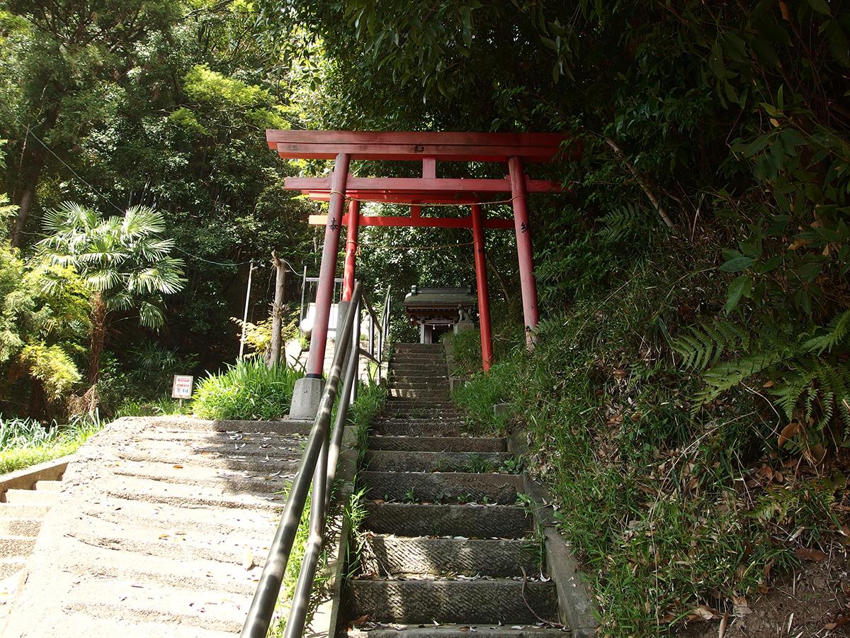 稲荷神社(横浜市港北区日吉5-2)写真