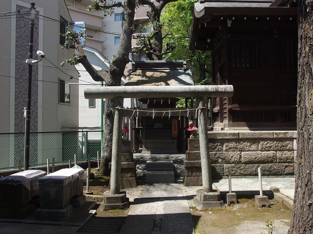 池尻稲荷神社写真