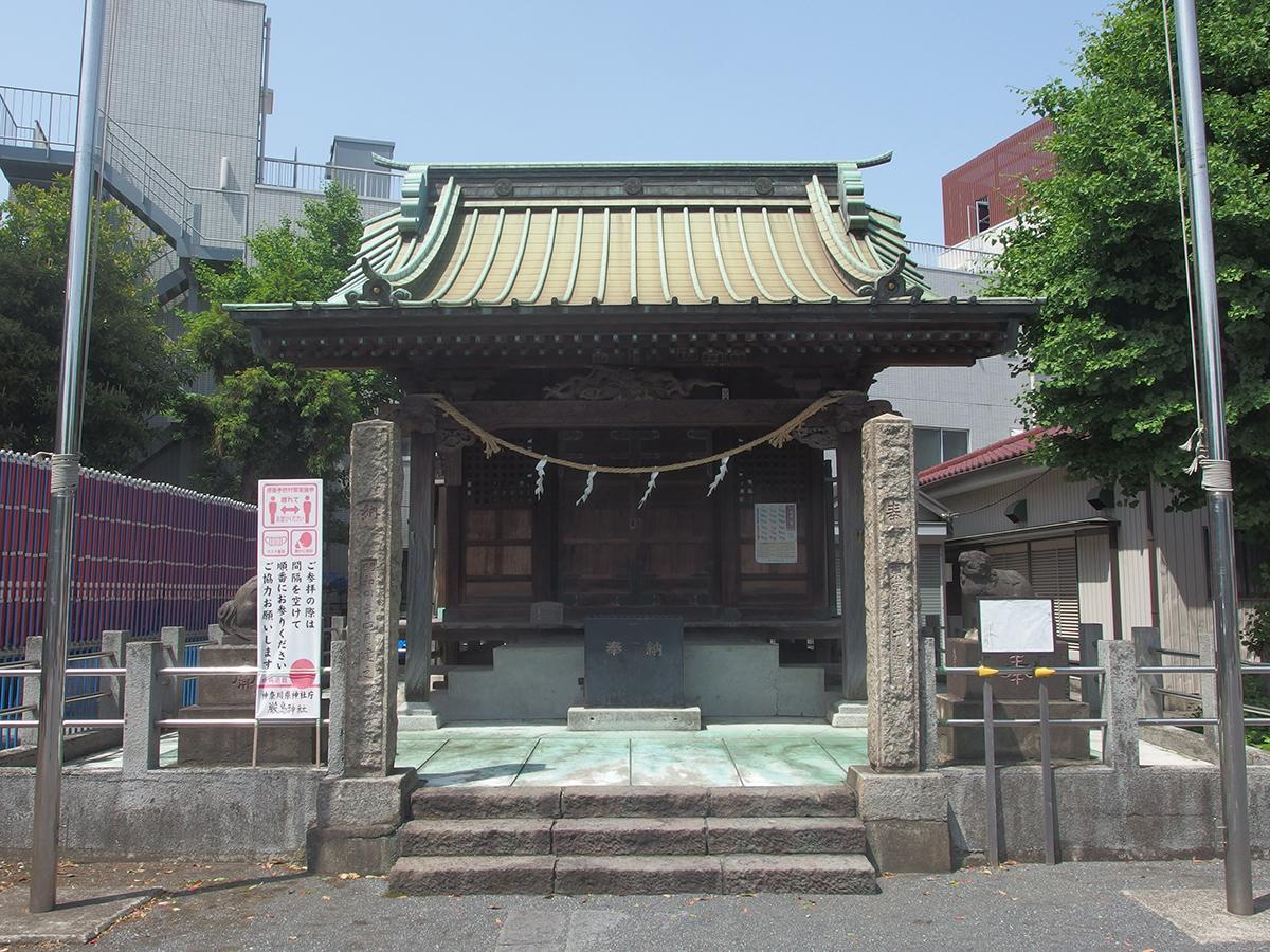 出来野厳島神社写真