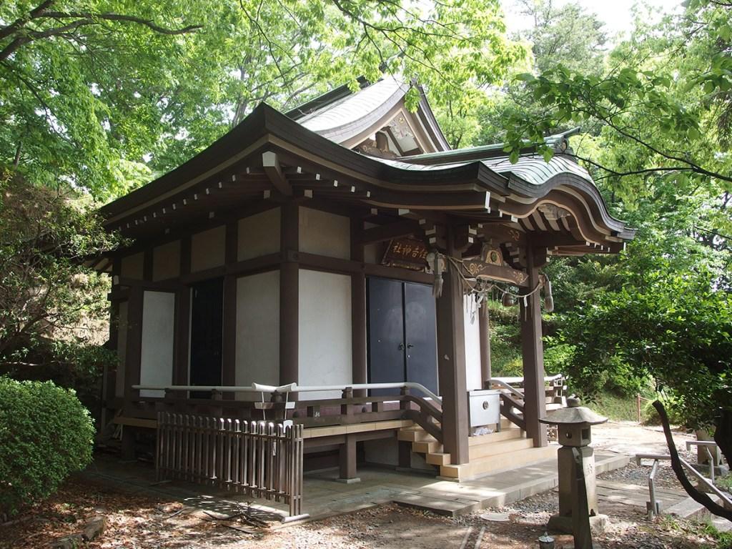 住吉神社(横浜市青葉区奈良町)
