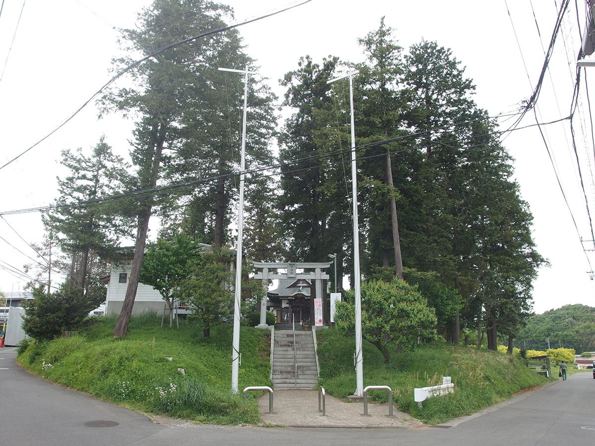 甲神社(横浜市青葉区鴨志田町)写真