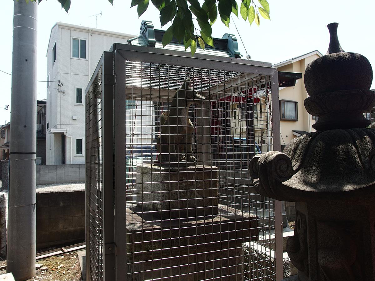 坂戸東森稲荷神社写真