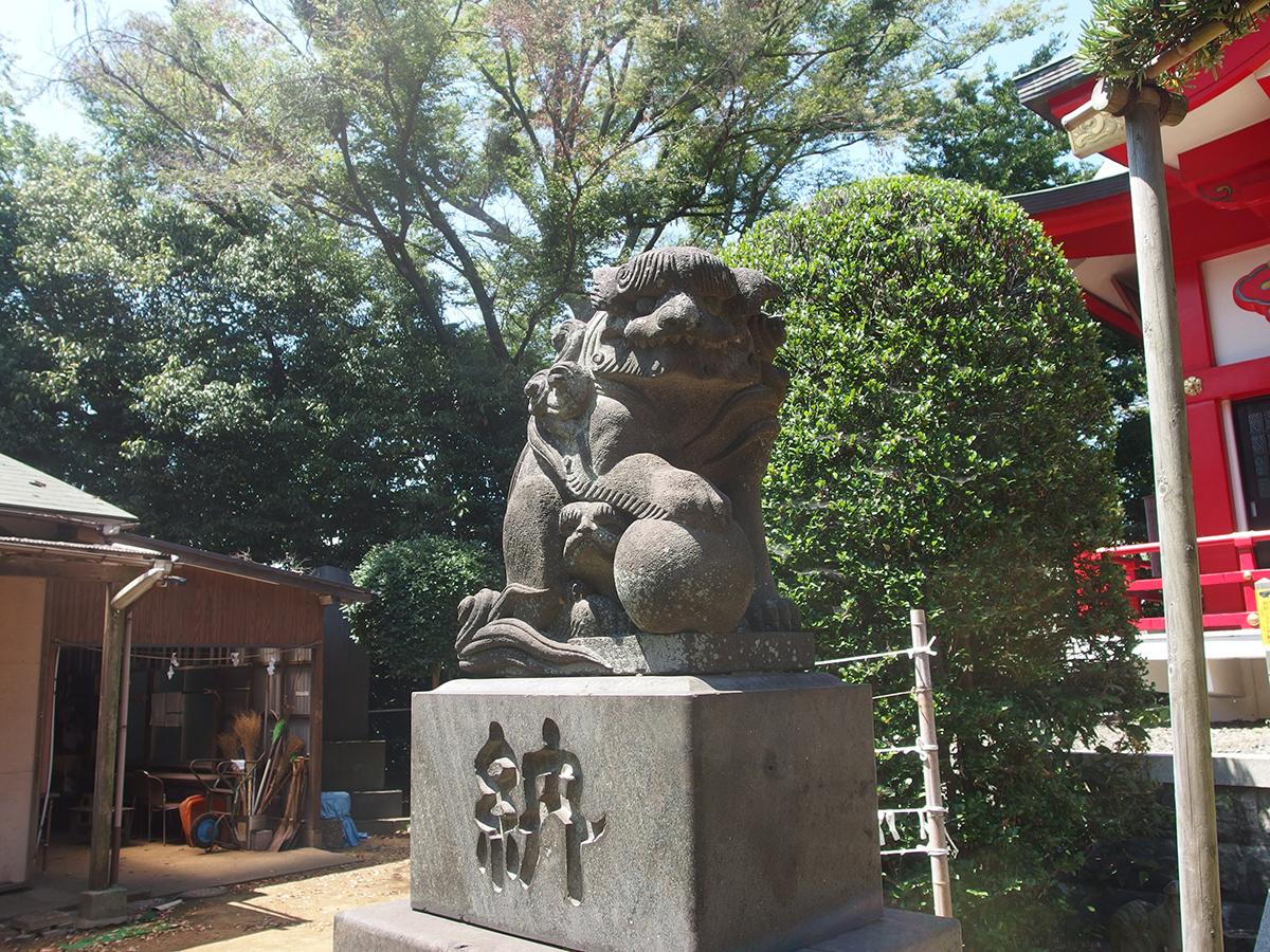 森浅間神社(横浜市磯子区森)写真