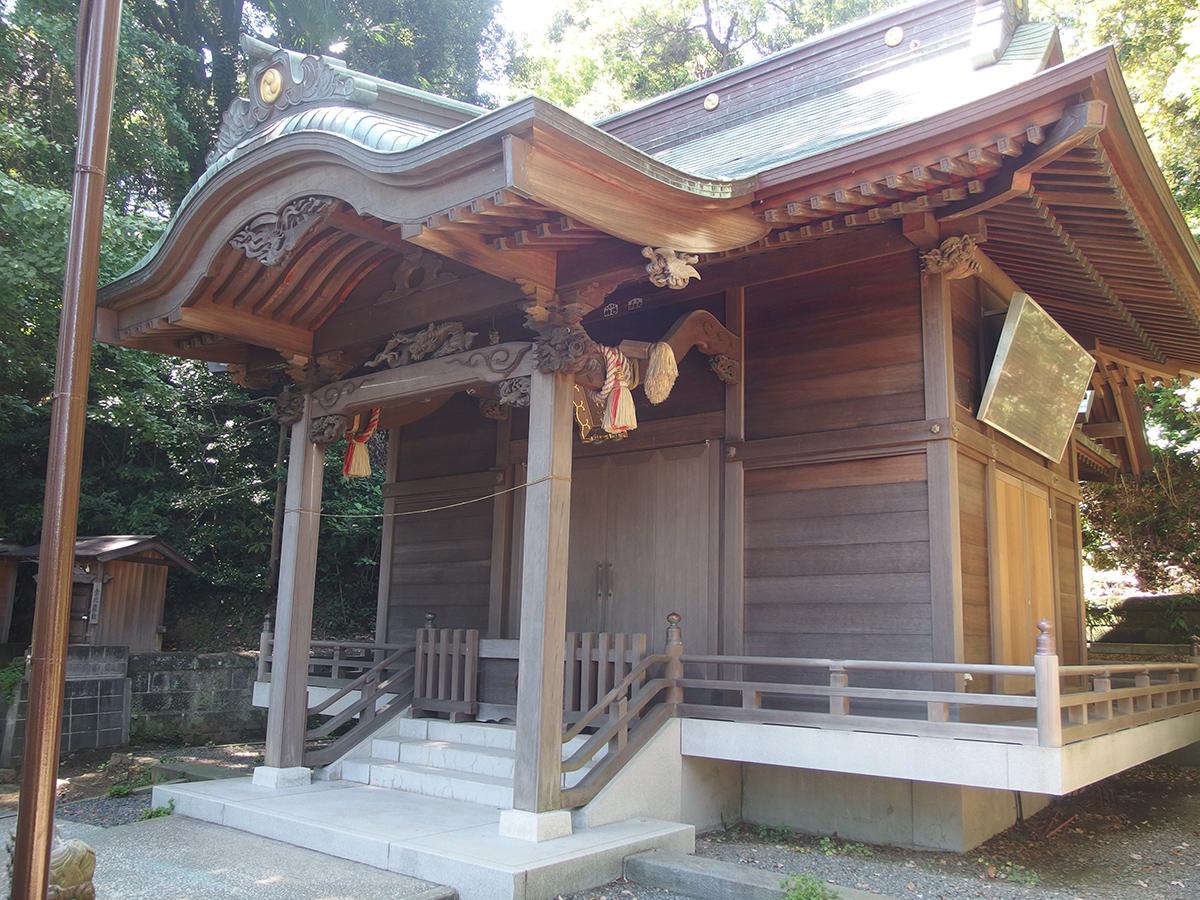 中原熊野神社(横浜市磯子区中原)写真