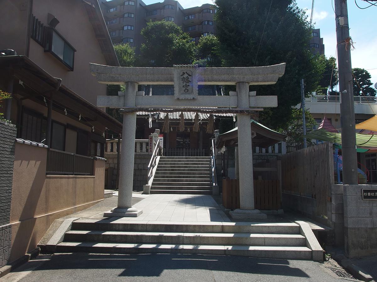 杉田八幡宮(横浜市磯子区杉田)写真