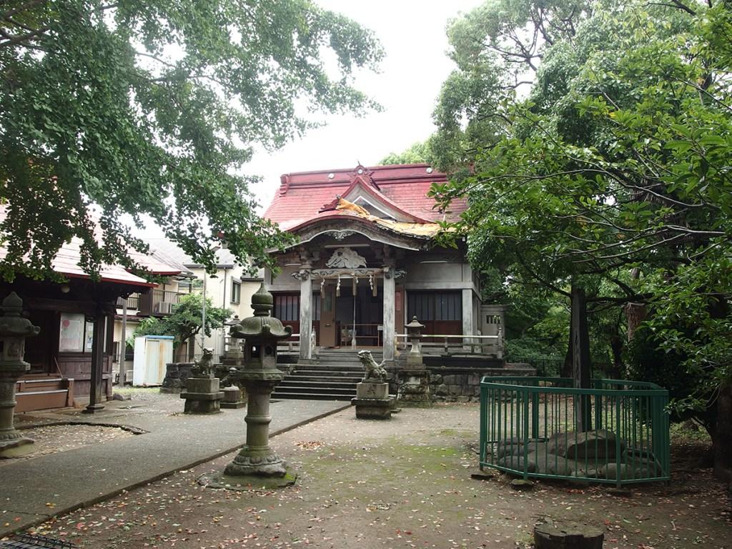 青木神社(横浜市港南区大久保)