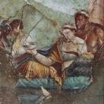 Fresco en Pompeya