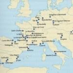 Yacimientos neandertales en Europa