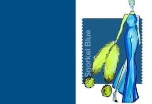 Pantone Snorkel Blue
