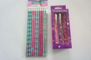 action shoplog potloden en pennen