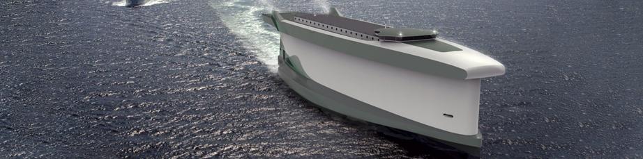 Vindskip un cargo hybride sur les mers. Davantage de bateaux du futur sur Sansible #sansible #bateau #futur #design #ecodesign #ecoenergie
