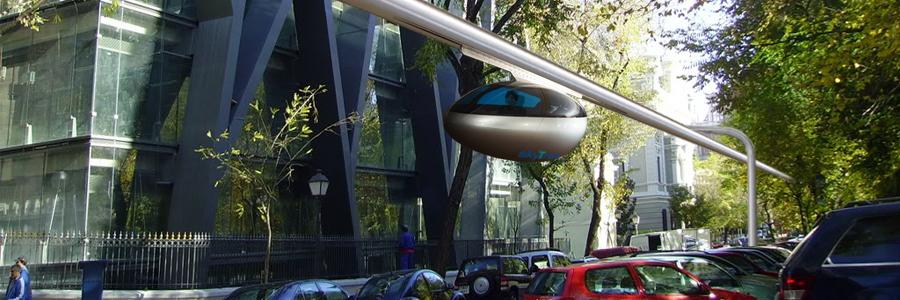 SkyTran le taxi du futur ? Découvrir davantage de transports du futur sur sansible. #sansible #transport #futur #skytran #design