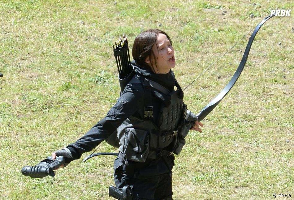 Hunger Games movie shooting feat Jennifer Lawrence