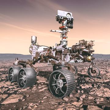 Mission Mars 2020, rover NASA-JPL/Caltech. Découvrir davantage de missions pour la planète Mars sur Sansible #sansible #mars #planete #explorationspatiale #voyage #science #technologie #mars2020