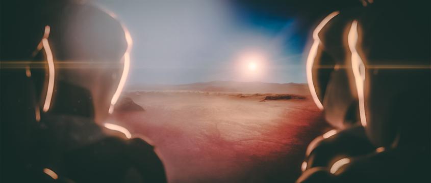 SpaceX veut créer une base habitée sur la planète Mars. Davantage à découvrir sur Sansible #sansible #planete #mars #explorationspatiale #colonie #voyage #humain #spacex