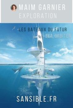 Sea Orbiter le projet scientifique de recherche internationale par Jacques Rougerie. Davantage de bateaux du futur à découvrir sur Sansible. #sansible #bateau #futur #ecoprojet #ecoconception #ecodesign #science
