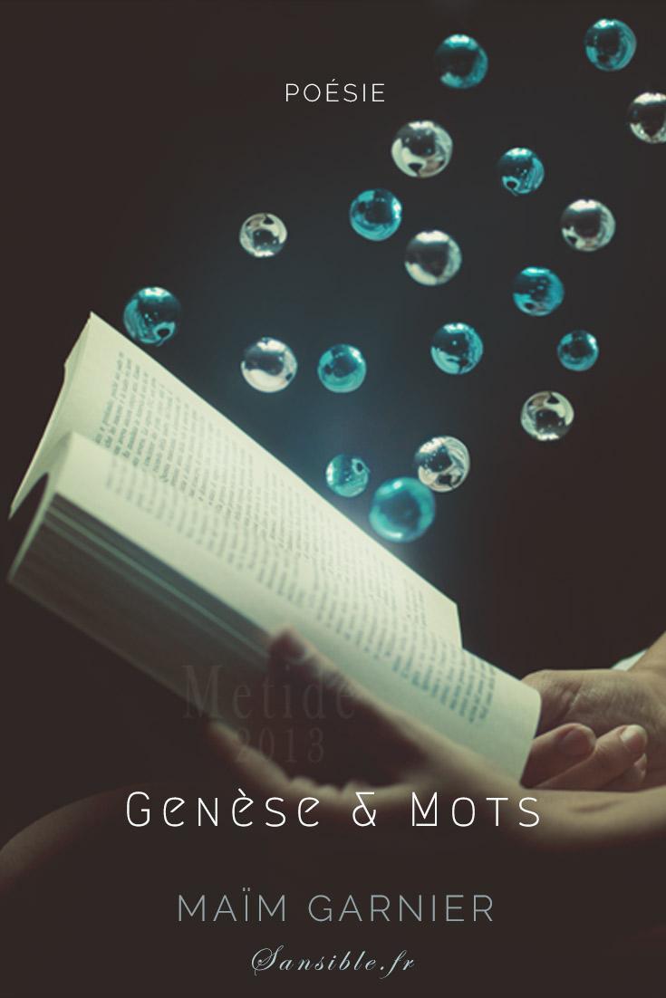 Genèse et mots