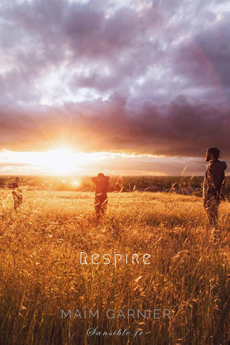 Respire est un texte poétique engagé de Maïm Garnier. La liberté se mérite : ne cédez pas à la peur. Texte à découvrir sur Sansible. #MaimGarnier #Sansible #societe #espoir #humanite #liberté