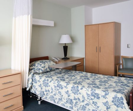 long-term care resident room