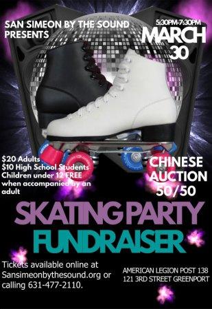 Skating Party Fundraiser