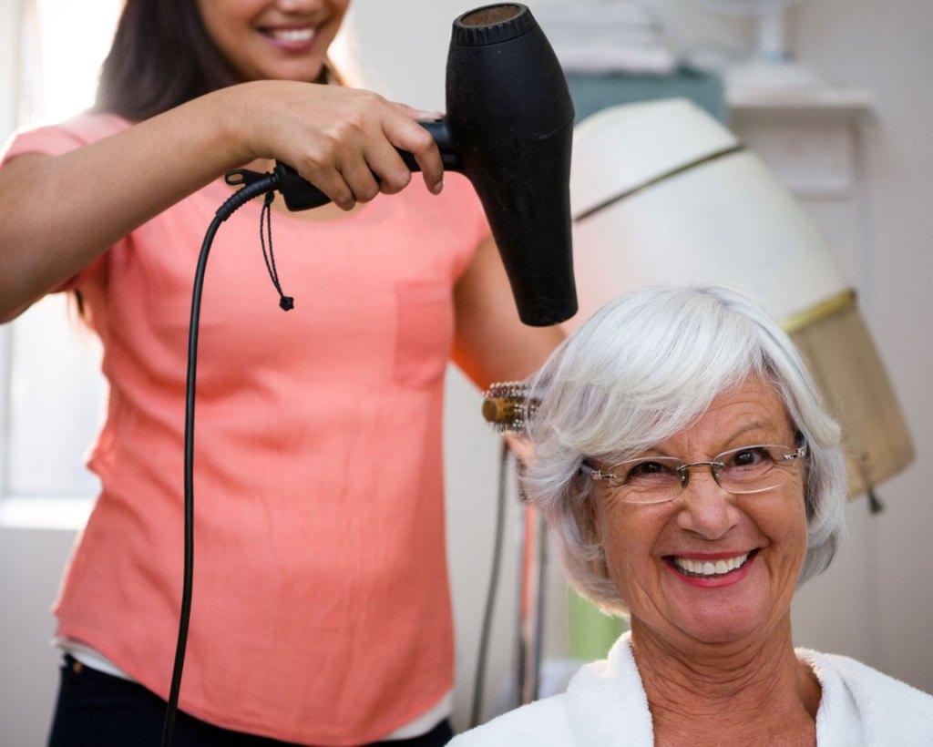 Nursing Home Salon Hair Care