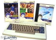"""Η ειδική έκδοση """"Michel Platini"""" του ΜΟ5, είχε διαφορετικό λευκό-γαλάζιο χρωματισμό και έφερε υπογραφή του ποδοσφαιριστή στο πλαίσιο."""