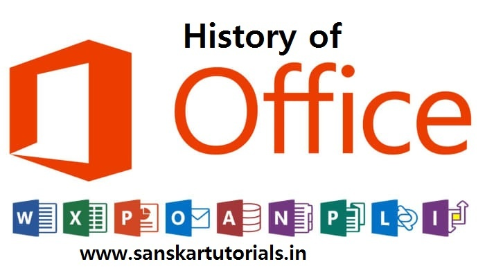 History of MS Office
