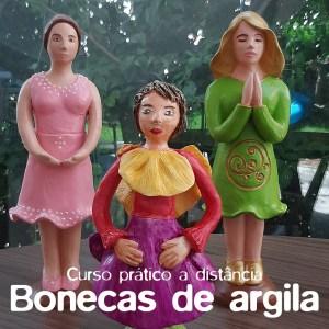 Bonecas de argila