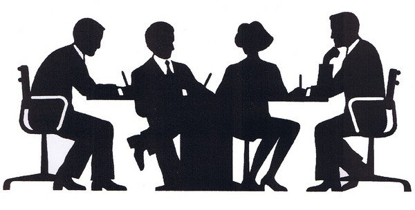 Meeting / Silhouette