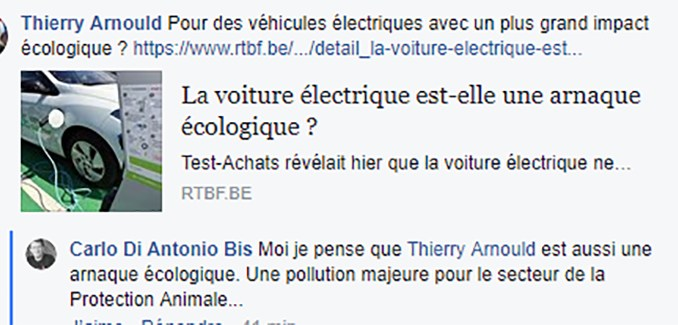 Une pollution majeure
