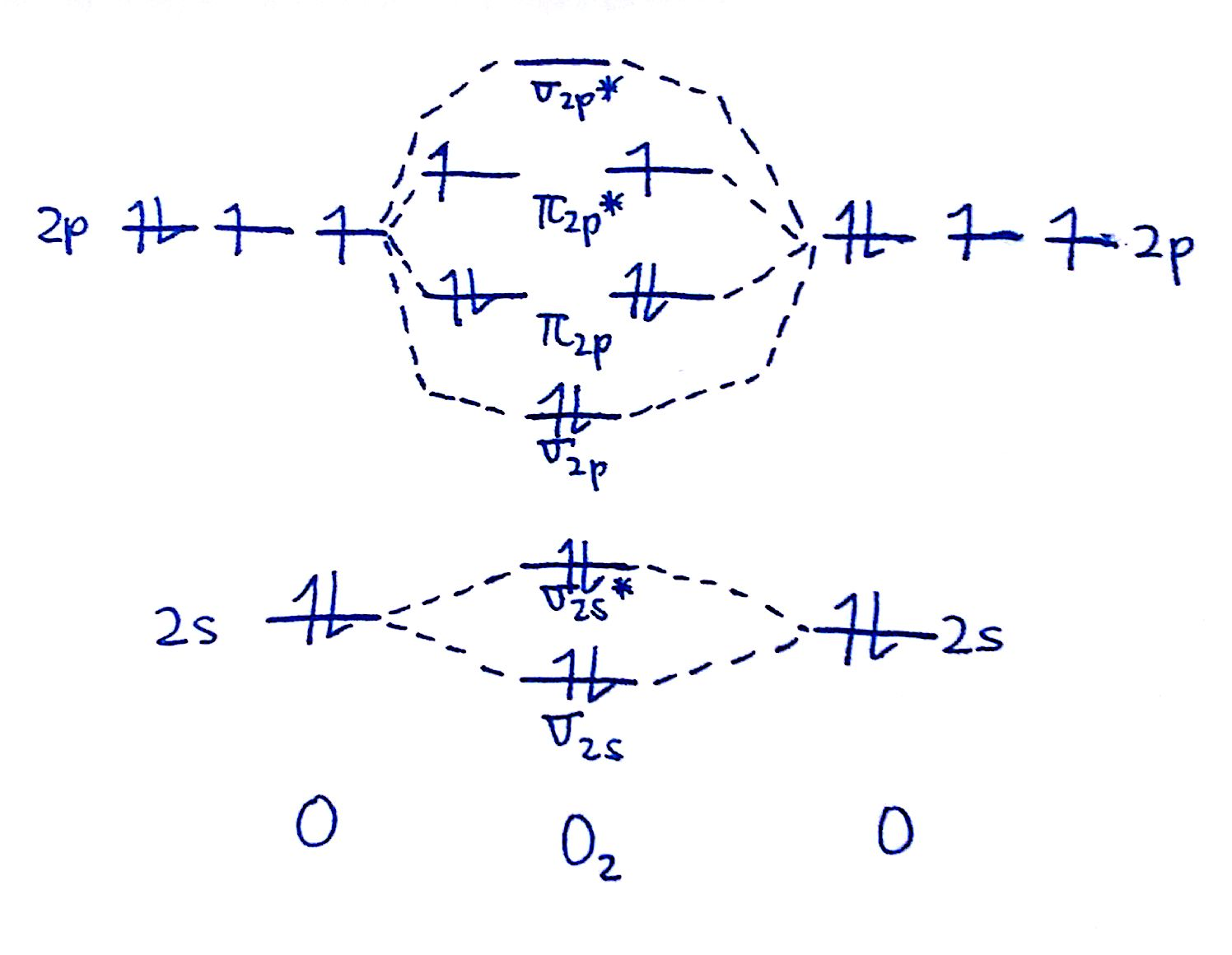 hight resolution of draw the mo diagram for o 2 o 2