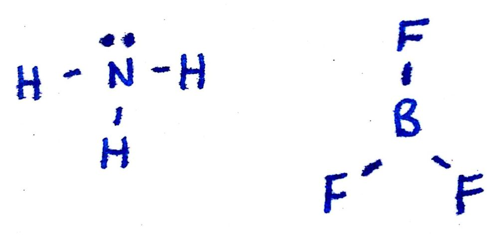 medium resolution of take a look at the lewis structures of nh3 n h 3 and bf3 b f 3 the only difference is the number of electrons on the