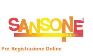 Sansone pre-registrazione online