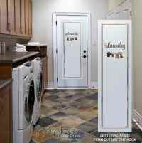 Laundry Room Doors - Sans Soucie Art Glass