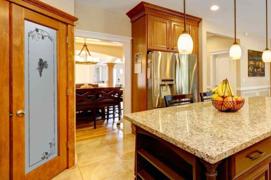 etched glass pantry doors - Sans Soucie Art Glass