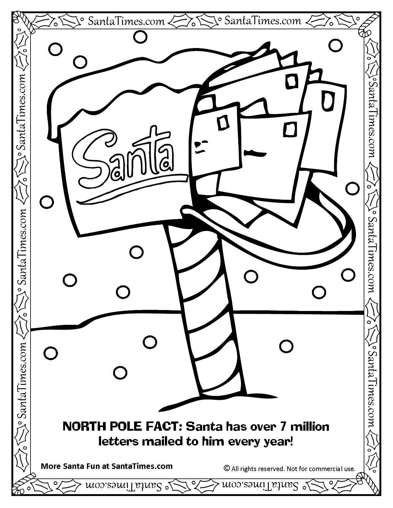 Mailbox Of Santa Claus