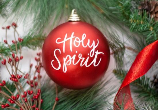 December 20 – Holy Spirit