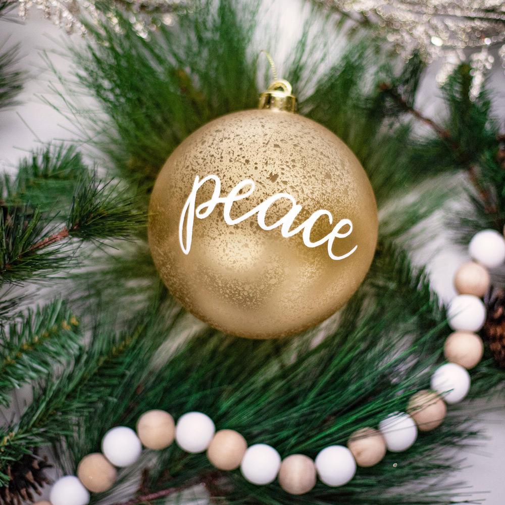 December 9 – Peace