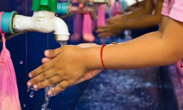 Handwashing, Teachers that schools are teaching children to wash their hands