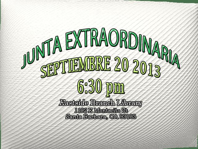 Junta Extraordinarial