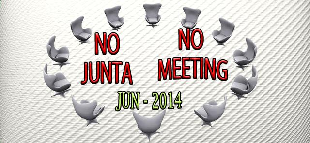No Meeting Jun 2014