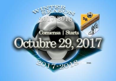 Temporada Invierno 2017-18 comiensa Octubre 29, 2017 | Winter Season 2017-18 Starts October 29th, 2017