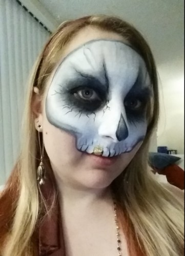 Goleta Face Painting, Skull Face Painting