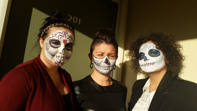 Dia De Los Muertos / Day of the Dead Face Painting by Santa Barbara Face Painting