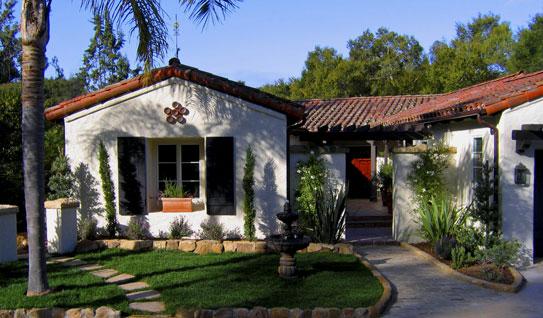 Santa Barbara California Style Home Designs And Photos