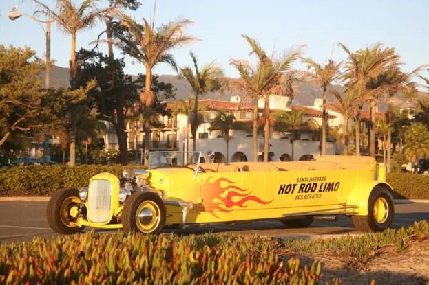 Santa Barbara Hot Rod Limo 10