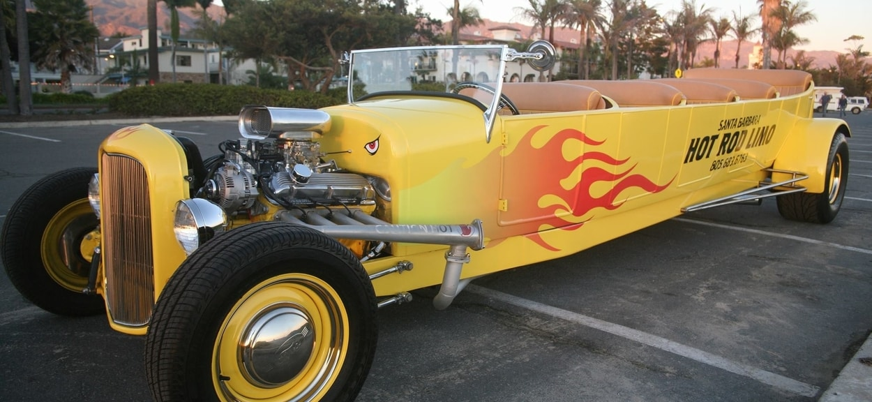 Santa Barbara Hot Rod Limo Tours