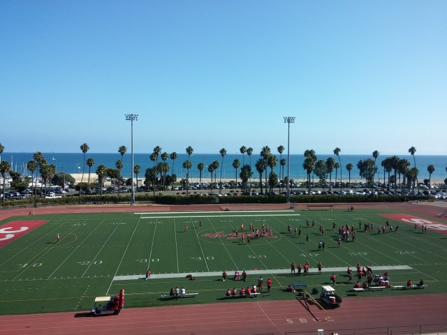 View of Ledbetter Beach from SBCityCollege Bleachers, photo: Pixabay.com