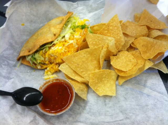 Rudys Restaurant Big Taco 1