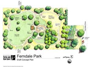 Ferndale Park Concept Plan
